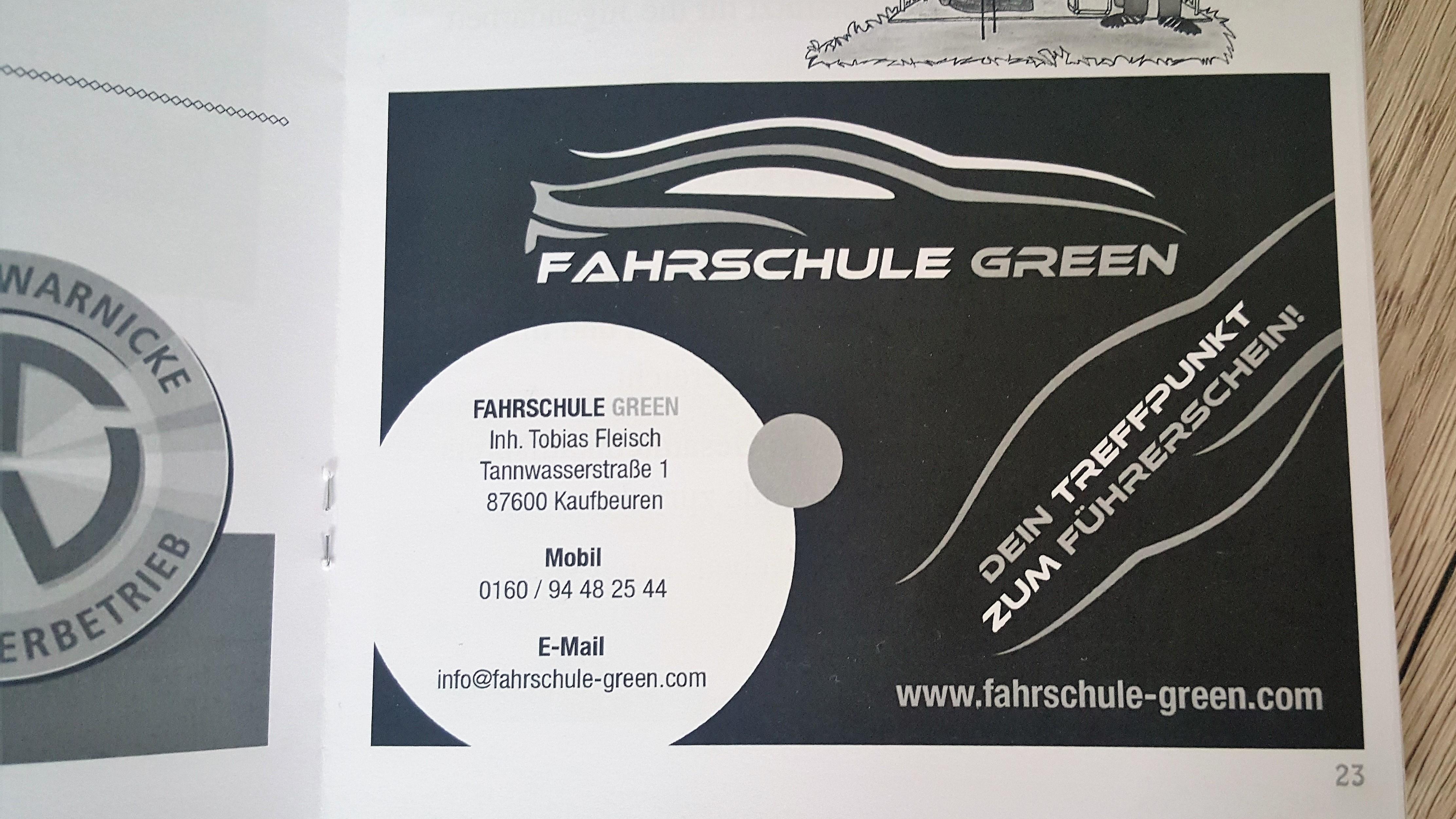 anzeige-stadionzeitschrift-bsk-fahrschule-green-kaufbeuren-neugablonz